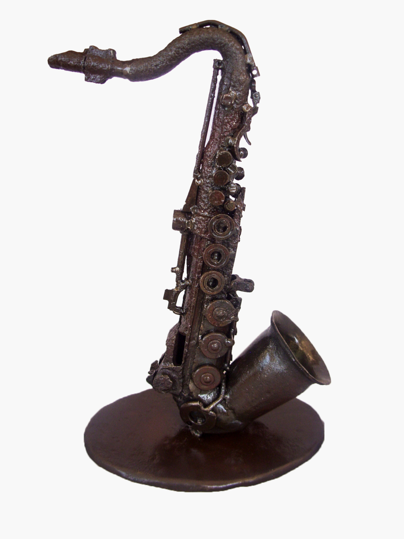 Saxophone by Manfred Zbrzezny – Arms Into Art – Liberia
